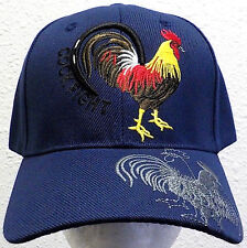 FOWL ROOSTER CHICKEN COCK GALLO FARM GAME FIGHT AMERICAN MEXICO MEXICAN CAP HAT