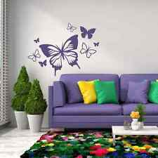 BUTTERFLIES Wall Decal Stickers Home room Decor Art Removable (L)