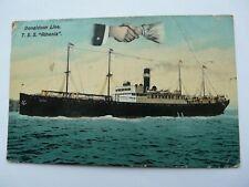 "T.S.S.Athenia, Anchor-Donaldson Line. Holmes ""Atlantic"" Series"