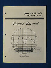 PHASE LINEAR 3000 SERIES TWO PREAMP SERVICE MANUAL ORIGINAL FACTORY ISSUE