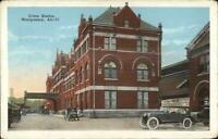 Montgomery AL Union RR Train Station Depot c1920 Postcard