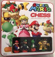 Super Mario Nintendo Chess Set Collector's Edition 32 Pieces Tin Case