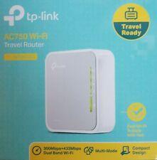 TP-Link WLAN Router Dualband 750 MBit/s mobil 300/433 MBit/s Multimode Hotspot