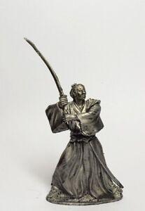 Tin soldier, figure. Samurai 54 mm