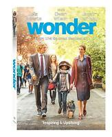 Wonder (DVD, 2018) Drama, Family *Free Shipping