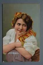 R&L Postcard: Stengel & Co Glamour Girl Portrait, European