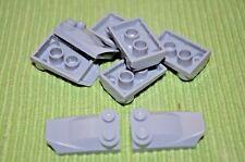 (8) 2x4 Light Gray Special Cover Bricks  ~  Lego  ~ NEW ~