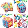 36pcs suave espuma bebé niños niños jugar Mat número del alfabeto Puzzle Jig*ws