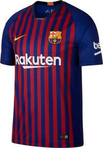 Nike Mens 2018/19 FCB Barcelona Stadium Home Football Shirt - 894430 456 - UK XL