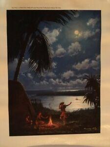 """Raymond A. Massey - """"Kumu Hula""""- Signed & Numbered - Artist Proof"""
