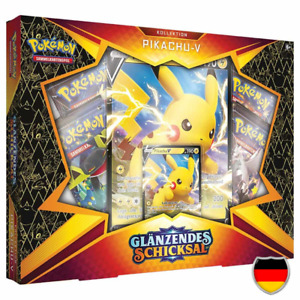 Pokemon - Glänzendes Schicksal - Pikachu V Kollektion - Deutsch - Neu & OVP