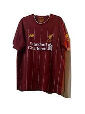 Liverpool Fc New Balance Home Football Shirt Bob Paisley Size Xl Decent Cond