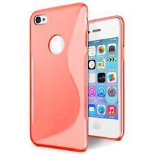 Handy Hülle Apple iPhone 4 S Schutz Case Silikon Cover Tasche Schutzhülle Bumper