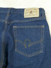 ROCAWEAR DENIM CO.~Men's Size 34×32~Dark Denim Jeans Pants.