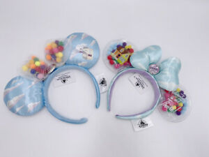 Bow Blue Disney Parks UP Grape Soda Cap Balloons 2020 Minnie Ears Headband