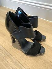 Gucci Ladies Black Shoes Sandals Heels