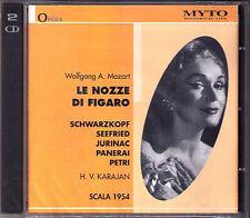 Mozart le Nozze di Figaro schwarzkopf seefried panerai Luisa villa Karajan 2cd