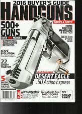 HANDGUNS 2016 BUYER'S GUIDE MAGAZINE,  ISSUE  # 183    500+ GUNS OVER 900 MODELS
