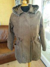 VESTE PARKA A CAPUCHE HOMME MARRON AE HIGH FASHION T. M Man Brown Parka jacket