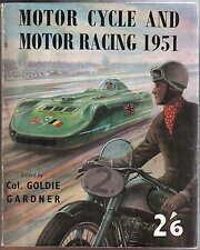 Motor ciclo & Motor Racing 1951 anual 500cc Gp hillclimbs sprints Tt
