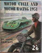 Motor Cycle & Motor Racing 1951 Annual 500cc GP Hillclimbs Sprints TT