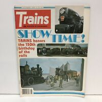 Trains The Magazine Of Railroading Back Issue September 1977 Crush Crash Royal