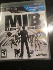 MIB Alien Crisis PS3 Playstation Game