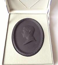 Boxed Wedgwood King Edward VIII Duke of Windsor Medallion Plaque Prince of Wales