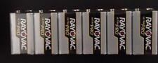 9V Batteries 9 Volt Rayovac AL9V-6 Ultra Pro Alkaline 9V Batteries 9 Volt 6 pack