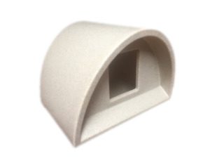 £51 ONLY -WATERPROOF OUTDOOR CAT KENNEL PLASTIC CAT HOUSE SHELTER BED