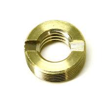 "Brass Microphone Stand/Drum Clip Thread Adapter 3/8""-5/8""  Shure A50D"
