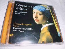 Passionate Baroque Arias Gemma Bertagnolli Ensemble CORDIA CD OVP