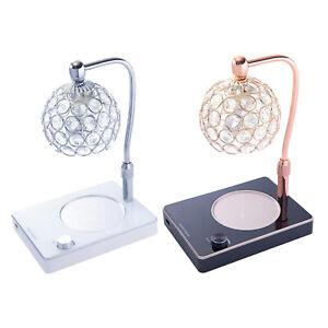 Elektrischer Kerzenwärmer Wachsschmelzer Duftlampe Dimmbares Nachtlicht Ceramic