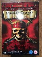 PIRATES OF THE CARIBBEAN: CURSE OF THE BLACK PEARL ~ Lost Disc Edition UK DVD