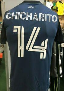 adidas CHICHARITO #14 LA Galaxy Away Womens Jersey