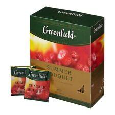 Tea Greenfield Summer Bouquet fruit and berry 100 bags 200gr