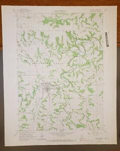 """Preston, Minnesota Original Vintage 1965 USGS Topo Map 27"""" x 22"""""""