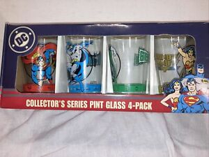 DC Comics Pint Glasses