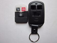 NEW 3 BUTTON REPLACEMENT KEYLESS REMOTE KEY FOB SHELL CASE OSLOKA-240T