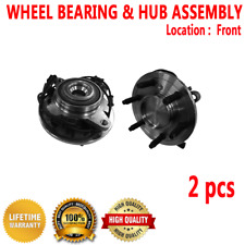 2pcs FRONT Wheel Hub and Bearing Assembly for FORD EXPEDITION 2003-2006 RWD