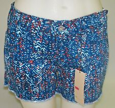 LEVIS - sz 6 SHORT - WOMENS SHORTS - VERY CUTE - BLUE- NWT