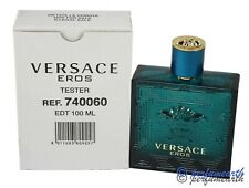 VERSACE EROS TSTR NO CAP  3.3 / 3.4  EDT SPARY   NEW IN TSTR BOX BY VERSACE