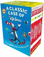 A Classic Case of Dr. Seuss Collection,  Box Set of 20 Popular Titles