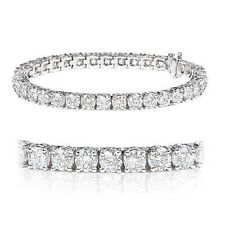 New Arrivals..!! 4.00Ct Round Diamond Tennis Bracelet in White Gold