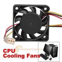 3 Pin 40mm Small Computer CPU Cooler Cooling Fan PC 4cm 40x40x10mm DC 12V Black