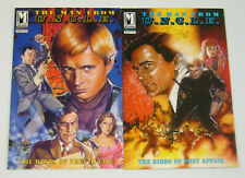 Man From U.N.C.L.E.: the Birds of Prey Affair #1-2 VF/NM complete series uncle