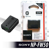 New NP-FW50 Battery for Sony A6300, A6000, A5000, A3000,  A7R, Alpha 7, Alpha 7R