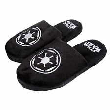 Galactic Star Wars Black Mule Adult Slippers 8-10
