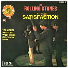 THE ROLLING STONES - Satisfaction - 1965 France SP 45 tours