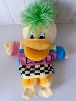 Edd The Duck Hand Puppet  Plush Squeaky Jumper Plus Soft Toy Vintage BBC 2009